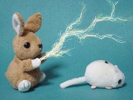 静電気を放電させる